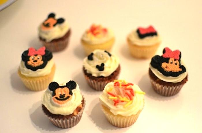 Детские пирожные на день рождения своими руками