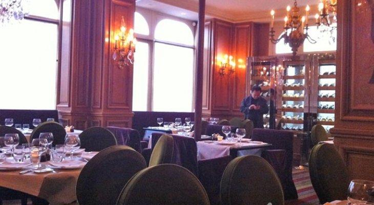 """Ресторан Жерара Депардье - """"La fontaine Gaillon"""""""
