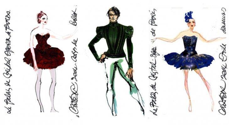Christian Lacroix - дизайнер парижской оперы
