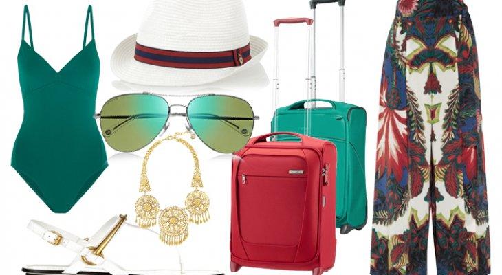 Собираем чемодан. Пляжный отдых.