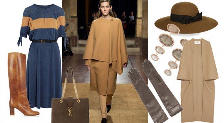 Look trendy pour l'automne parisien 2014 : la cape