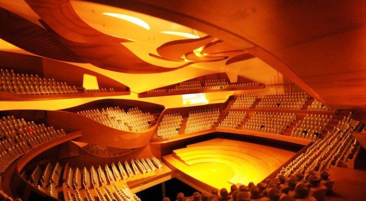 Музыкальный Париж. Новый концертный зал Philarmonie de Paris