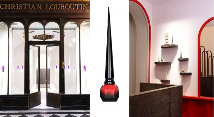 Бутик косметики Christian Louboutin в Париже