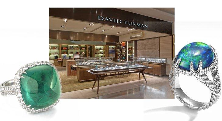Ювелирный дом David Yurman теперь в Galeries Lafayette