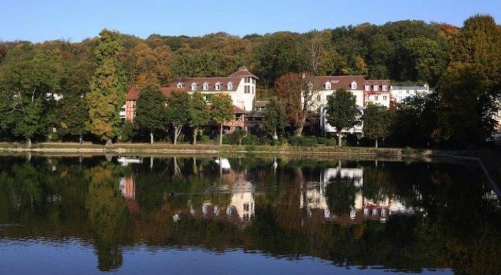 Отель Les Etangs de Corot для вдохновления