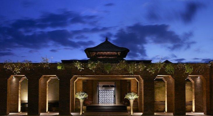 Отель Mandapa Ritz – вход в храм гармонии