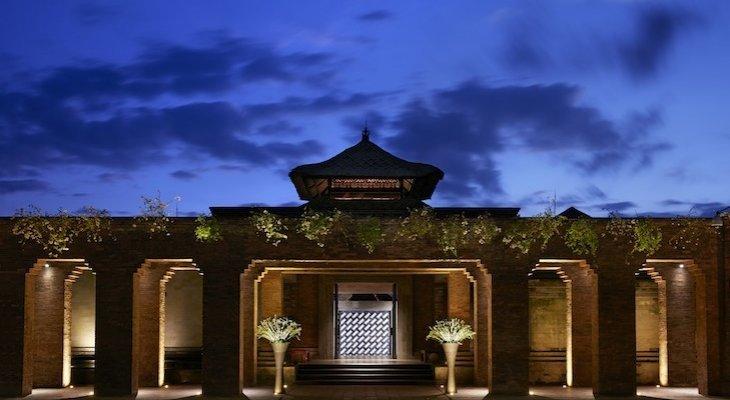 Hôtel Mandapa Ritz, entrée au temple du bien-être