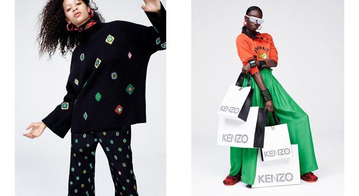 Долгожданная коллекция Kenzo x H&M