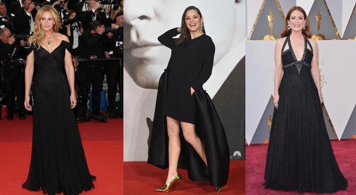 Самые красивые черные платья 2016 года