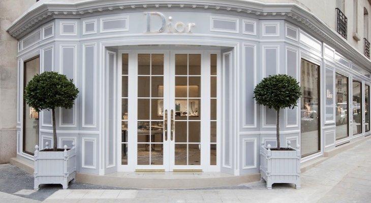 Новый ювелирный бутик Dior на авеню Монтейн