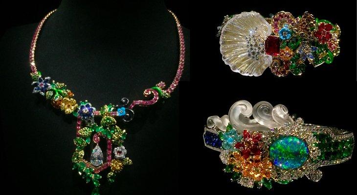 Новая ювелирная коллекция  Dior à Versailles Côté Jardins